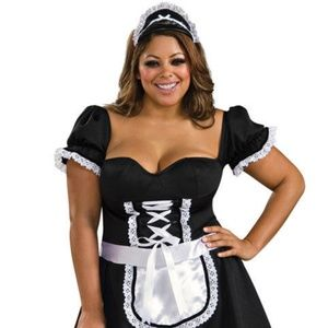 Frenchie the Maid Halloween Plus Size Costume